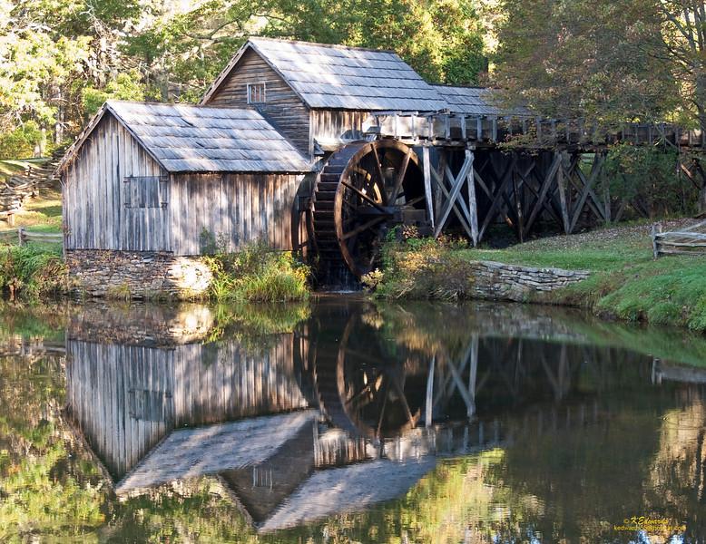 Mabry Mill, VA<br />    1910, restored 1942