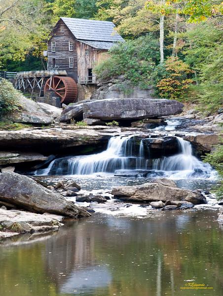 Glade Creek Grist Mill, WV<br />    1975