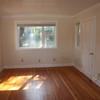 First floor front bedroom/den/office/whatever. Door on right goes to front room.