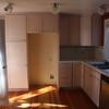 Kitchen, missing fridge and range