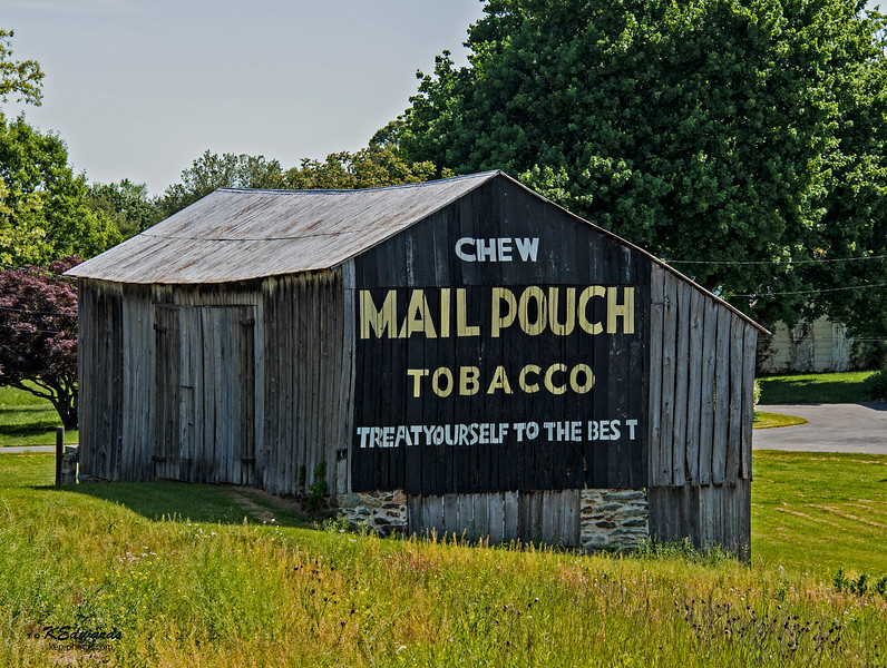 Mail Pouch Barn in MD