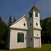 Church on Naskeag Point Road, Brooklin Maine. This is the Beth Eden Chapel, built in 1900.