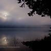 Foggy Sunrise on Parks Pond.