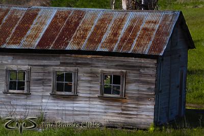 Storage House / Palouse / Washington  An old storage house found in the Palouse region in Washington