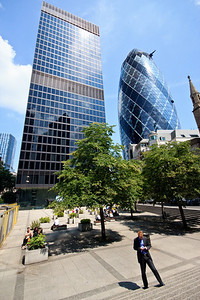 Commercial Union Plaza & the Gherkin