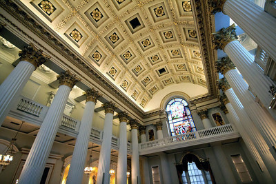 Mansion House interior - the Egyptian Hall