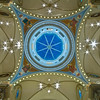 A view looking up to the dome. The Basilica of Saint Mary of the Assumption. Marietta, Ohio.