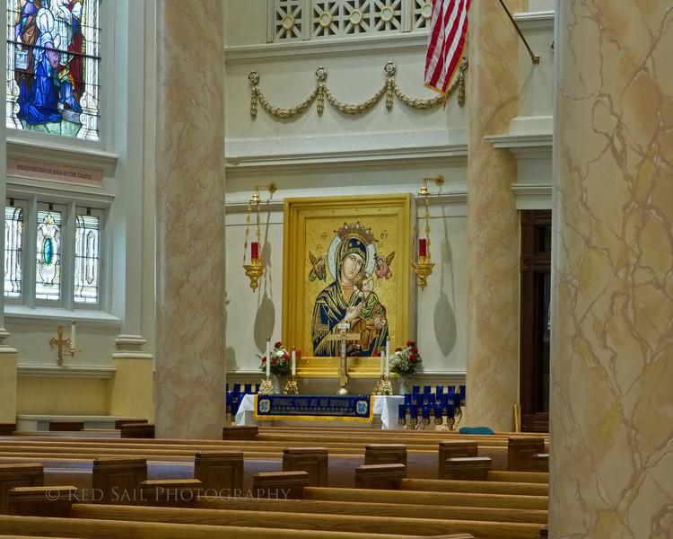The Basilica of Saint Mary of the Assumption. Marietta, Ohio.