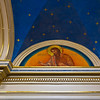 Ceiling mural at The Basilica of Saint Mary of the Assumption. Marietta, Ohio.