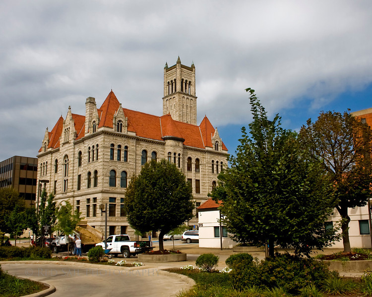 Wood County Courthouse in Parkersburg, West Virginia.
