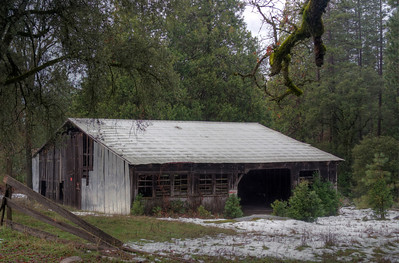 Harris Ranch Mill - old Sawmill building - Harris Road