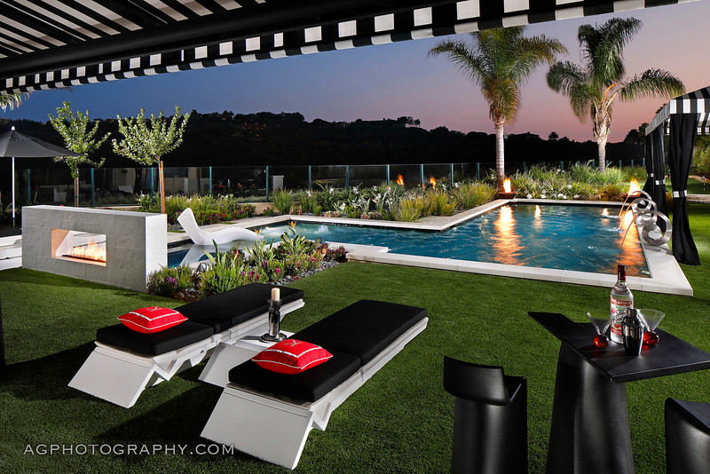 Mark Scott Associates Landscape Architecture, Newport Beach, CA, 8/3/18.