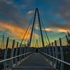 Mary Avenue Bridge at Sunset