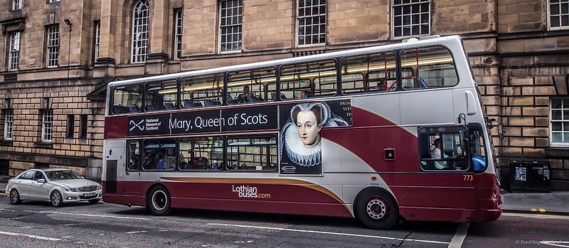 Mary Queen of Scots Bus