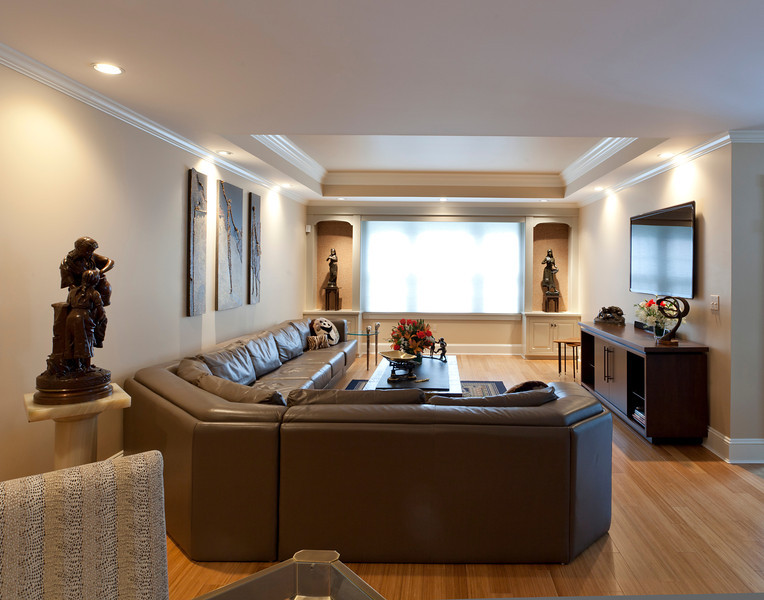 Massachusetts Condo. Designs Plus Interior Design