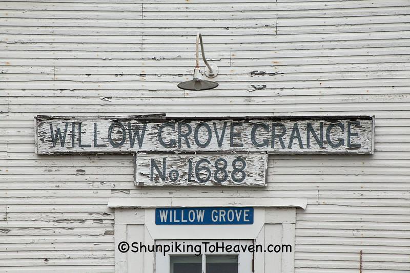 Willow Grove Grange No 1688, Columbiana County, Ohio