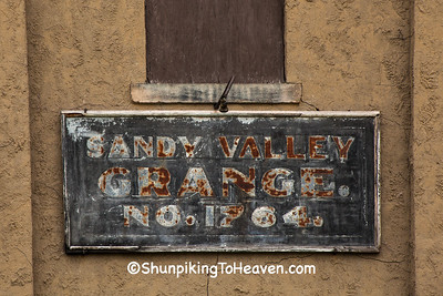 Sandy Valley Grange No 1764, Tuscarawas County, Ohio