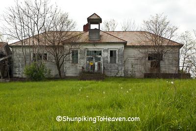 Johnsonville School/Grange Hall, Noble County, Ohio