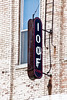 Sign for I.O.O.F. Lodge, Keokuk, Iowa