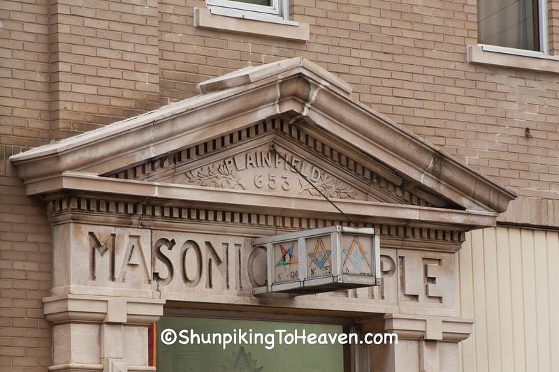Masonic Temple, Plainfield, Indiana.