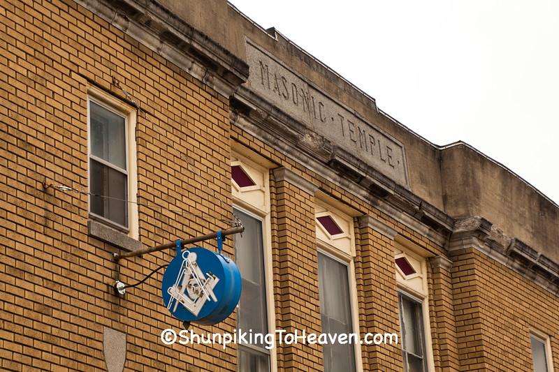 Masonic Temple, Belmont County, Ohio