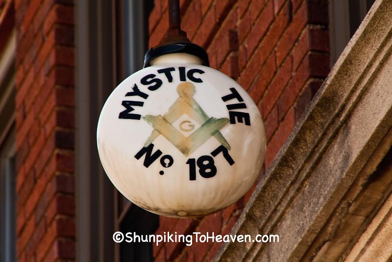 Masonic Lodge Globe, Polo, Illinois