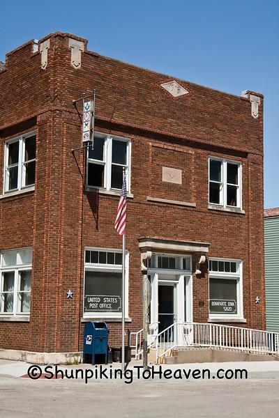 Bonaparte Post Office, Van Buren County, Iowa