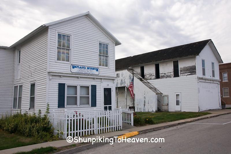 Wayland Museum Building and Masonic Hall, Henry County, Iowa