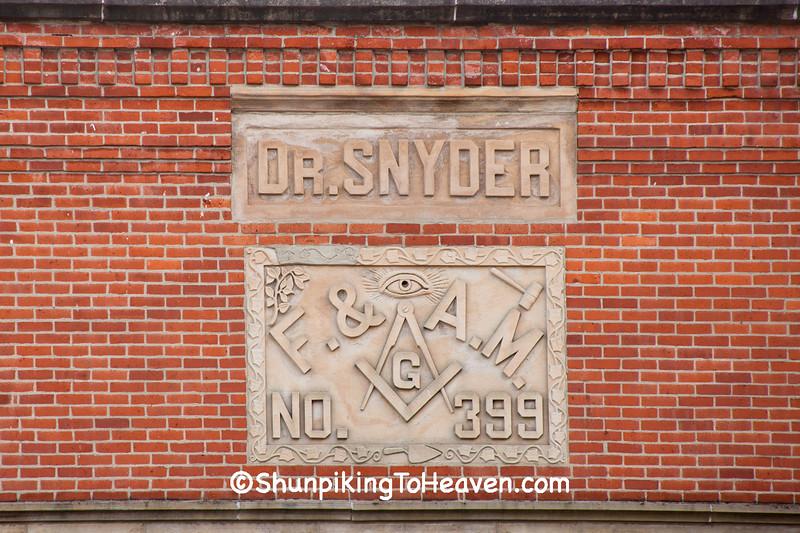 Masonic Lodge in Old Drug Store Building, LaGrange, Ohio