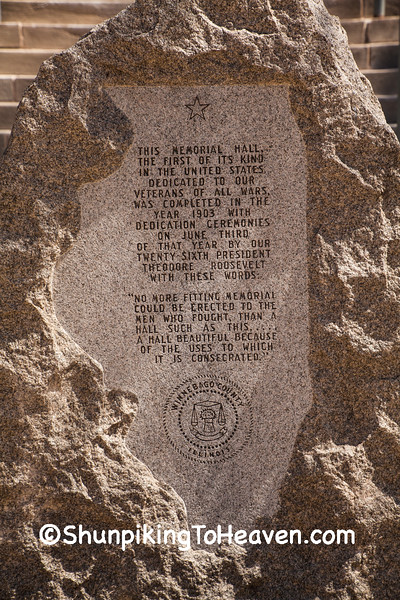Memorial Stone at Veterans Memorial Hall and Museum, Rockford, Illinois