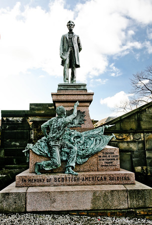 Scottish - Ameerican Soldiers Monument