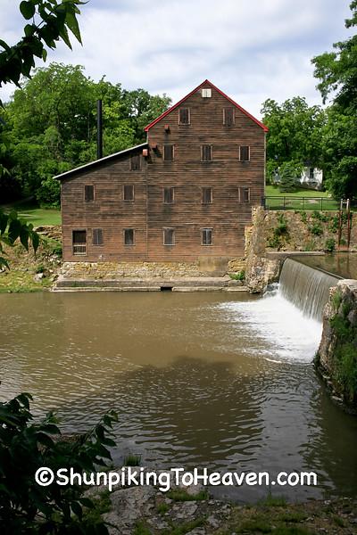 Pine Creek Grist Mill, Muscatine County, Iowa