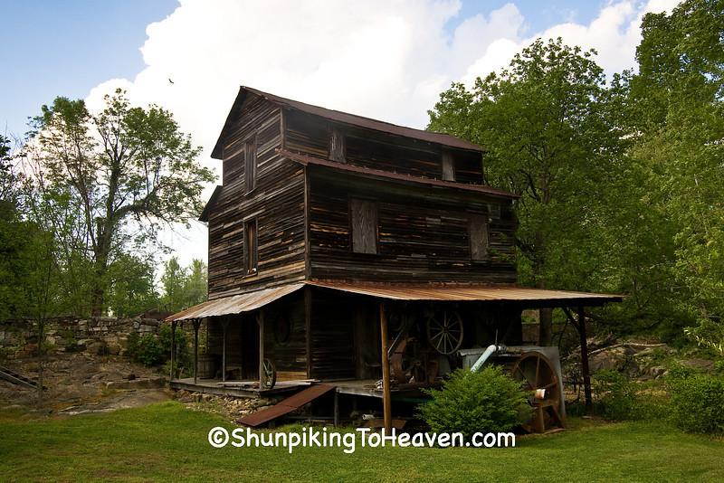 Dickey Mill on Quaker Creek, Alamance County, North Carolina
