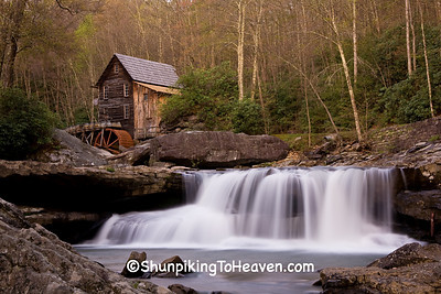 Glade Creek Grist Mill, Fayette County, West Virginia