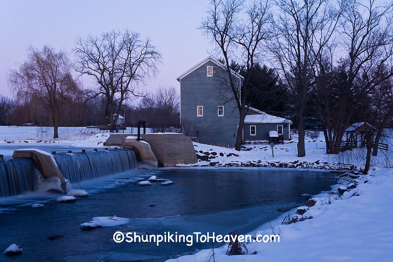 Beckman Mill, Rock County, Wisconsin