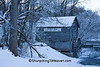 Frosty Morning at Hyde's Mill, Iowa County, Wisconsin