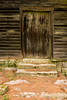 Door on Cotton Hill Mill, Fayette County, West Virginia