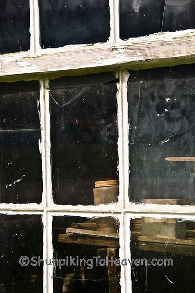 Window of H. C. Ogle Planing Mill, Noble County, Ohio