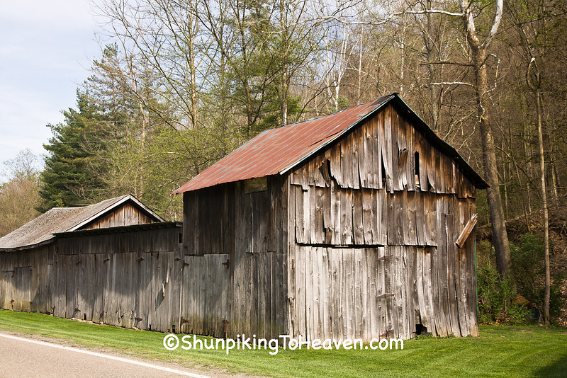 Outbuildings at H. C. Ogle Planing Mill, Noble County, Ohio