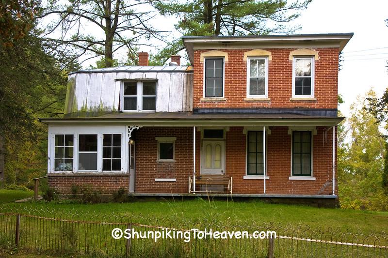 Miller's House,Oehler's Mill, La Crosse County, Wisconsin