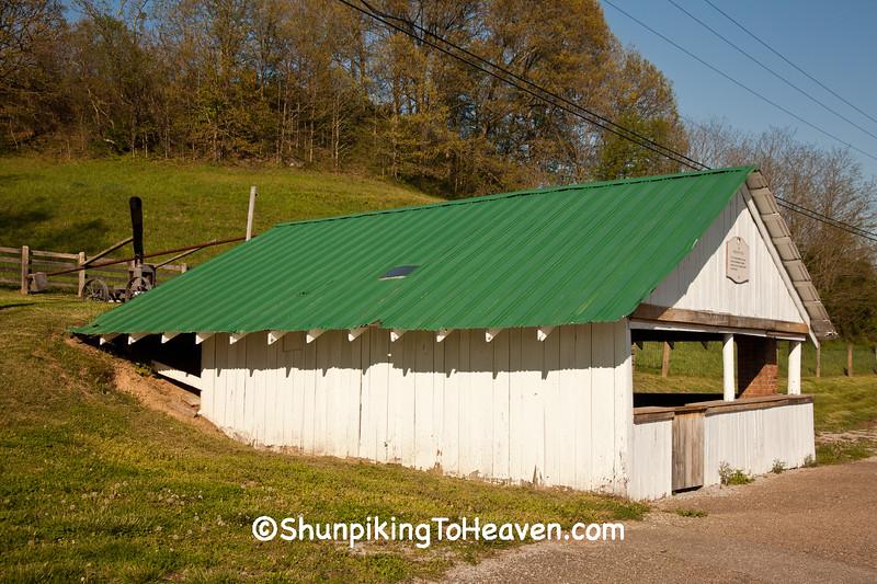 Sorghum Mill, Bob Evans Farm, Gallia County, Ohio
