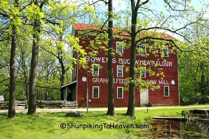 Bowen's Mill, Built 1864, Barry County, Michigan