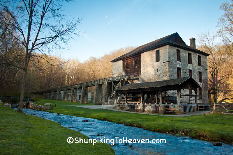 Hamer Grist & Saw Mill, Lawrence County, Indiana