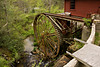 Waterwheel of Stepp's Mill, Henderson County, North Carolina