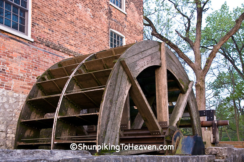 Waterwheel of Graue Mill, DuPage County, Illinois