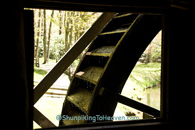 Overshot Waterwheel of Mabry Mill, Floyd County, Virginia