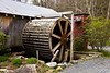 Overshot Waterwheel at Old Hampton Grist Mill, Avery County, North Carolina