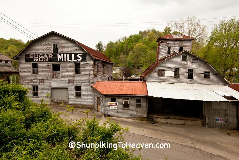 Sugar Run Mills Complex, Meigs County, Ohio