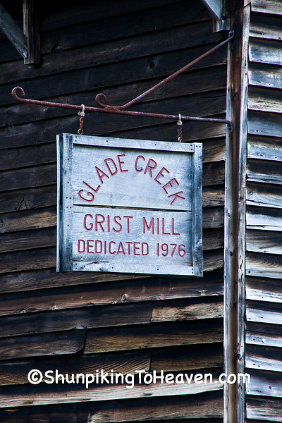 Glade Creek Grist Mill, Babcock State Park, Fayette County, West Virginia