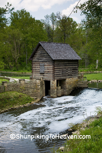 McHargue's Grist Mill, Levi Jackson State Park, Laurel County, Kentucky